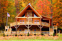 North Carolina Cabin Rentals in the Blue Ridge Mountains